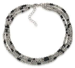ABS by Allen Schwartz All Choked Up Take 2 Beaded Choker