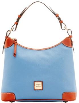 Dooney & Bourke Pebble Grain Hobo Shoulder Bag - DUSTY BLUE - STYLE