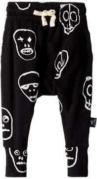 Nununu Skull Mask Baggy Pants Boy's Casual Pants