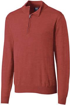 Cutter & Buck Red Douglas Half-Zip Pullover - Men