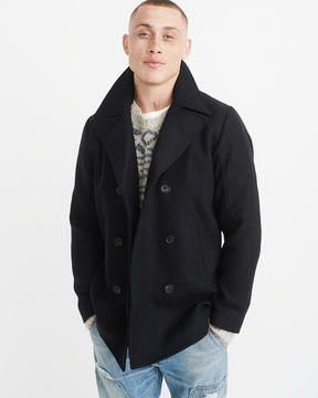 Abercrombie & Fitch Italian Wool Peacoat