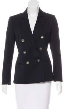 Barneys New York Barney's New York Double-Breasted Wool Blazer
