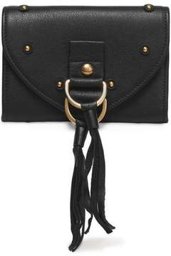 See by Chloe Collins Tasseled Textured-Leather Wallet