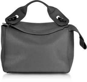 Sophie Hulme Charcoal Bolt Shoulder Bag