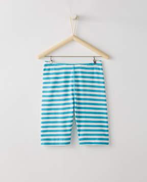 Hanna Andersson Stripey Bike Shorts In 100% Cotton