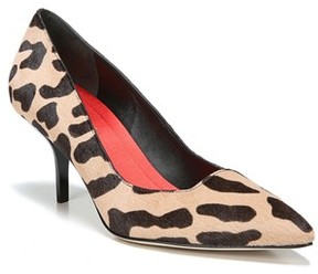 Diane von Furstenberg Women's Meina Genuine Calf Hair Pump