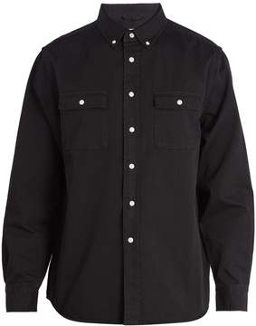 Saturdays NYC Angus button-down collar cotton shirt