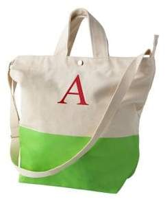 Cathy's Concepts Personalized Dipped Canvas Tote