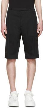 Acne Studios Black Fleau Shorts