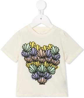 Stella McCartney Chuckle Shells Heart T-shirt