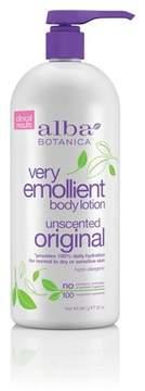 Alba Very Emollient Body Lotion - Unscented Original- 32oz