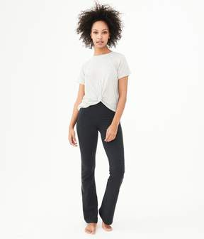 Aeropostale LLD Knot-Front Tee