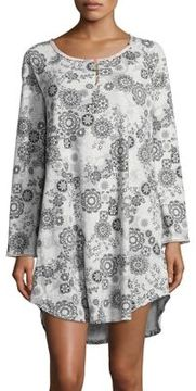 Karen Neuburger Abstract Floral Sleepshirt