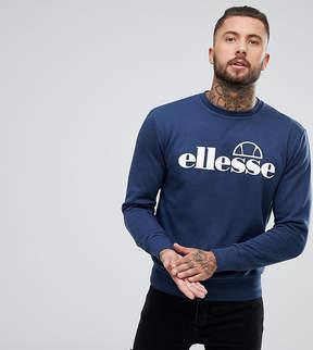 Ellesse Zarah Crew Neck Sweatshirt In Navy