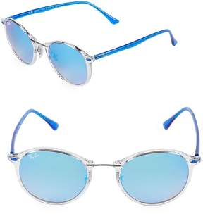 Ray-Ban Women's 49MM Round Sunglasses