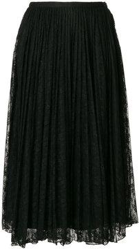 Blugirl long lace skirt