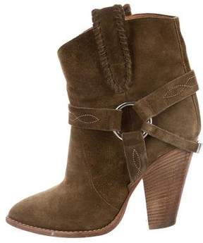 Etoile Isabel Marant Rawson Suede Ankle Boots