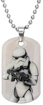 Star Wars Men's Stormtrooper Stainless Steel Dog Tag (18)
