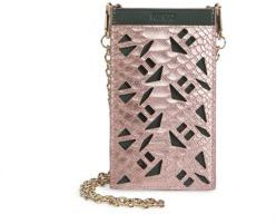 KENZO Python Leather Cutout Pouch