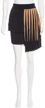 Fausto Puglisi Asymmetrical Knit Skirt w/ Tags