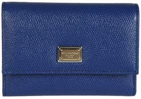Dolce & Gabbana Fold-out Purse - MARINE - STYLE