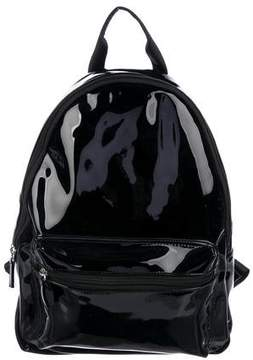 Max Mara Patent Leather Backpack