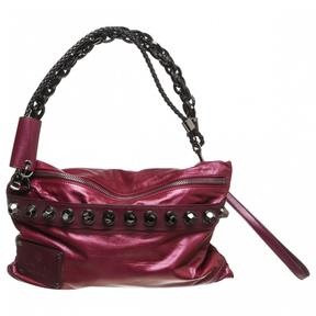 Gucci Hobo leather handbag - BURGUNDY - STYLE