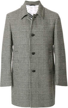 Hydrogen dogtooth single breasted coat