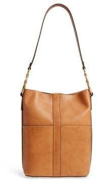 Frye Ilana Leather Bucket Bag - Brown