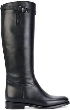 Church's knee high buckle boots
