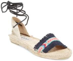 Manebi Women's Flat Fringe Sandal
