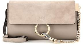 Chloé Faye Mini leather wallet bag