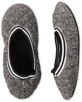 Isotoner Sweater Knit Ballerina Slippers
