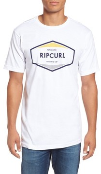 Rip Curl Men's Upper Ground Classic Logo Graphic T-Shirt