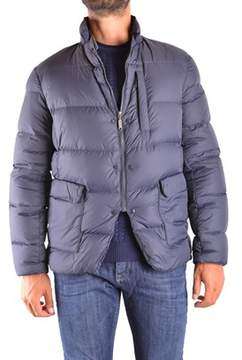 Aspesi Men's Blue Polyamide Down Jacket.