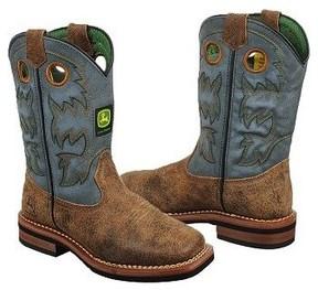 John Deere Kids' Chaos Cowboy Boot Toddler/Preschool