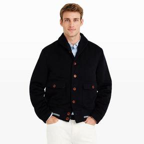Club Monaco Golden Bear Varsity Jacket