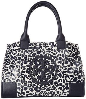 Tory Burch Mini Ella Printed Tote Tote Handbags - LARGE CLOUDED LEOPARD - STYLE