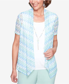 Alfred Dunner Daydreamer Layered-Look Necklace Top