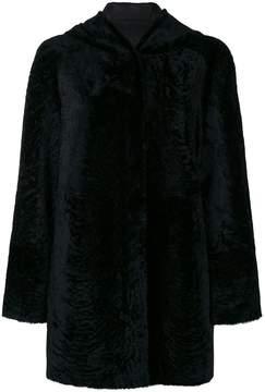 Drome hooded reversible coat