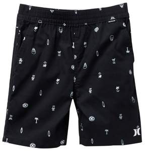 Hurley Printed Pull-On Shorts (Toddler Boys)