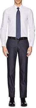 Boglioli MEN'S COTTON POPLIN DRESS SHIRT