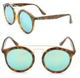 Ray-Ban 52MM Round Aviator Sunglasses
