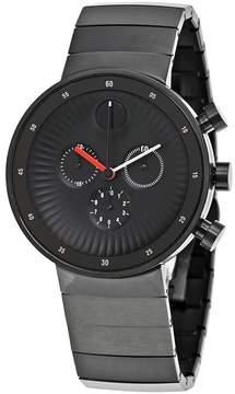 Movado Edge Black IP Stainless Steel Men's Watch