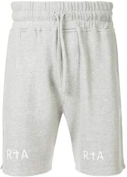 RtA drawstring track shorts