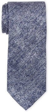 Altea Blue Melange Silk Tie