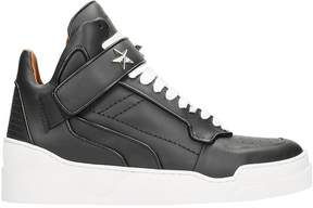 Givenchy Tyson Black Leather Sneakers