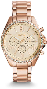 Fossil Modern Courier Chronograph Rose Gold-Tone Stainless Steel Watch