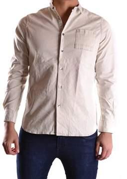 Meltin Pot Men's Beige Cotton Shirt.