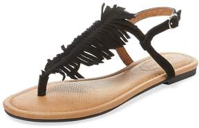 Corso Como Women's Cheryl Fringe Leather Sandal